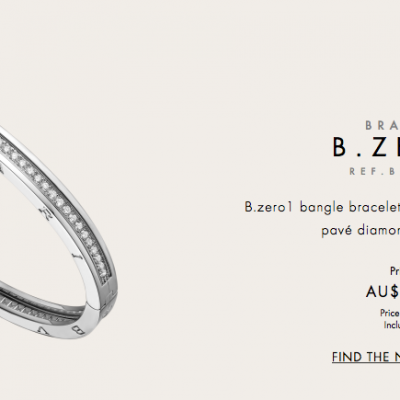 BVLGARI B. Zero1 Diamond Bangle