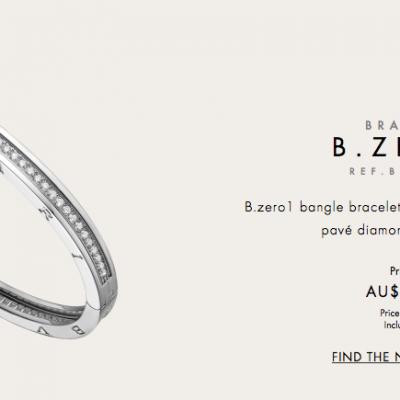 BVLGARI B. Zero1 Diamond Bangle