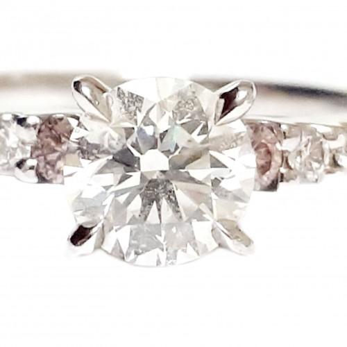Pink Diamond Ring by John Calleija