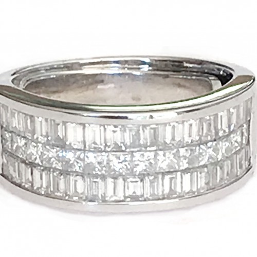 BaguettePrincessDiamondDressRing