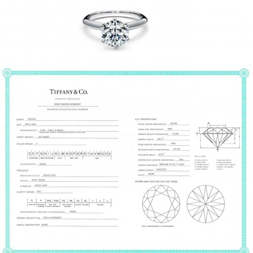 0.44ctTiffanyRing